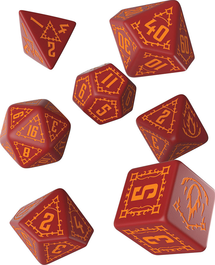 Pathfinder 2E RPG: Age of Ashes Dice Set (7)