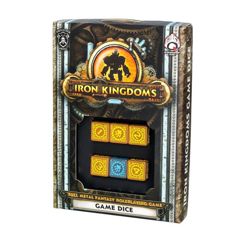 Iron Kingdgoms RPG: Game Dice (6)