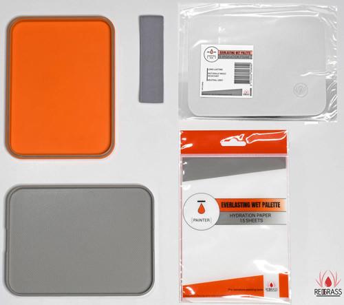 Redgrass: Painter Size - Everlasting Wet Palette Starter Pack
