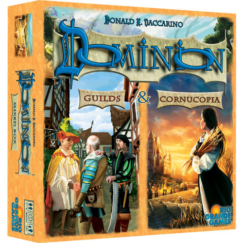 Dominion: Cornucopia and Guilds Expansion