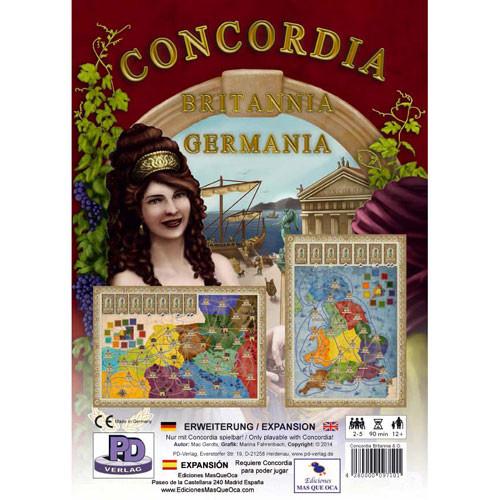 Concordia: Britannia and Germania Expansion