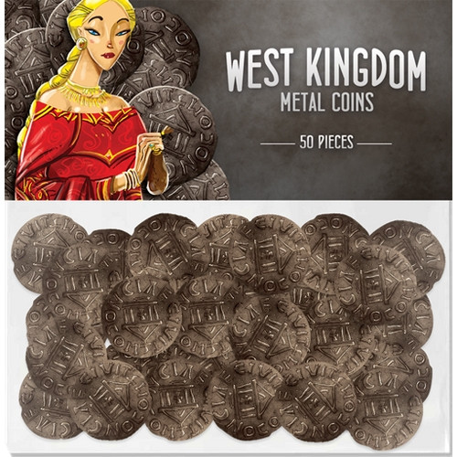 Architects of the West Kingdom: Metal Coins (50) | Board