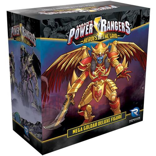 Power Rangers: Heroes of the Grid - Mega Goldar Deluxe Figure
