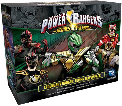 Power Rangers: Heroes of the Grid - Legendary Ranger Tommy Oliver Pack