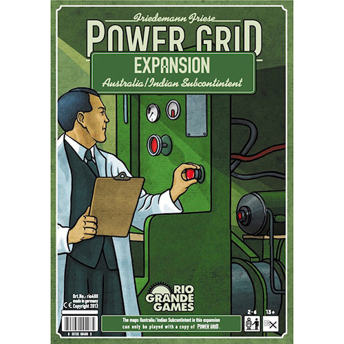 Power Grid: Australia/Indian Subcontinent Expansion