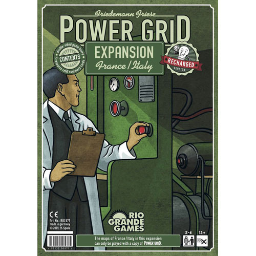 Power Grid Recharged: France & Italy Expansion