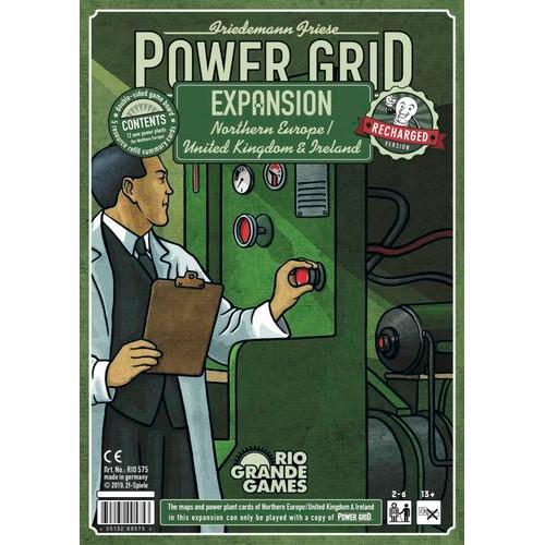 Power Grid Recharged: Northern Europe / UK & Ireland Expansion