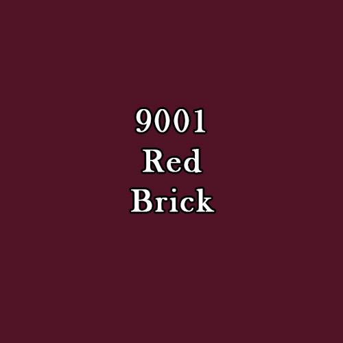 Master Series Paint: Red Brick