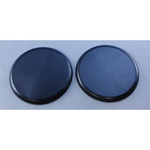 Reaper: 60mm Round Lipped Plastic Base (10)