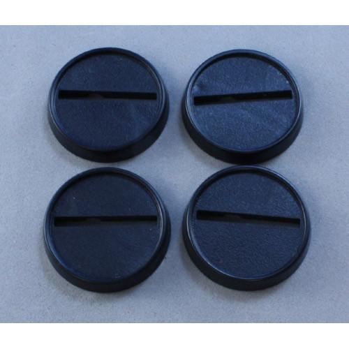 Dark Heaven Legends: 25mm Round Lipped Plastic Base (20)