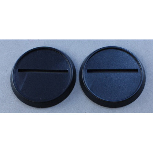 Dark Heaven Legends: 40mm Round Lipped Plastic Base (10)