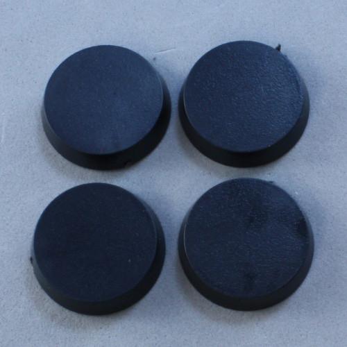 Reaper: 20mm Round Plastic Base (25)