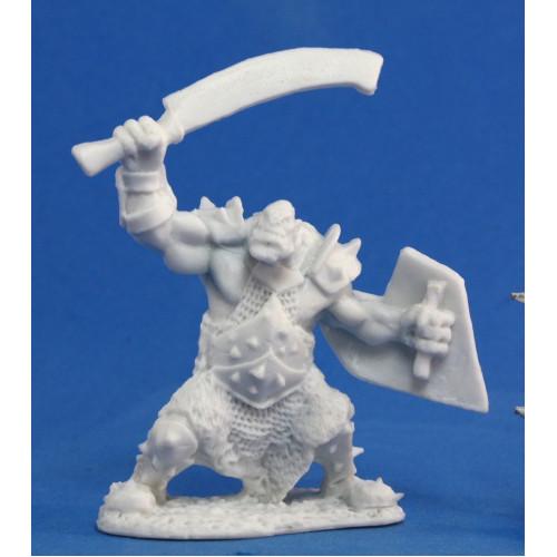 Dark Heaven Bones: Orc Marauder (Sword & Shield)
