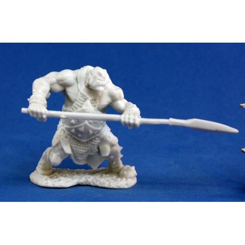 Dark Heaven Bones: Orc Hunter (Spear)