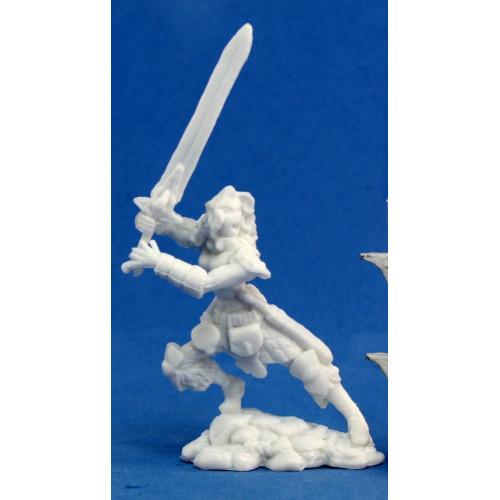Dark Heaven Bones: Deenah, Female Barbarian