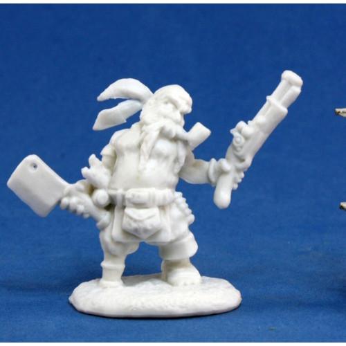 Dark Heaven Bones: Gruff Grimecleaver, Dwarf