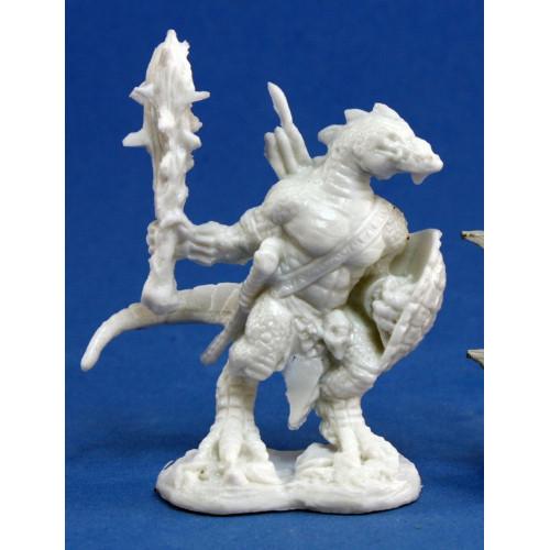 Dark Heaven Bones: Lizardman Warrior