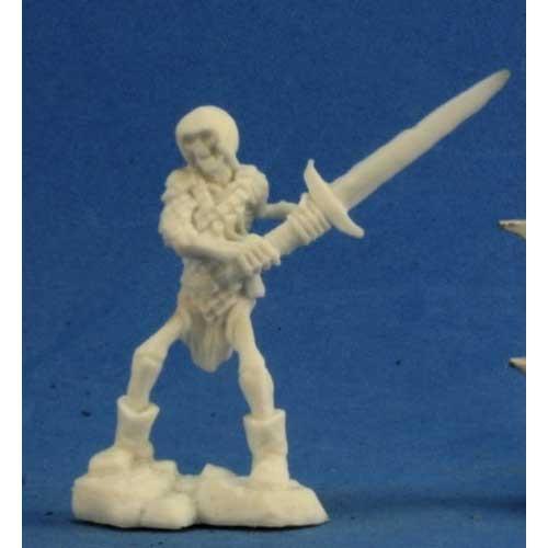 Dark Heaven Bones: Skeleton Guardian w/ Two-Handed Sword (3)