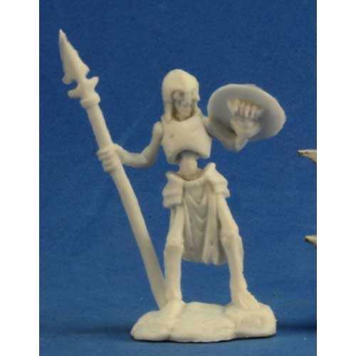 Dark Heaven Bones: Skeleton Guardian Spearman (3)