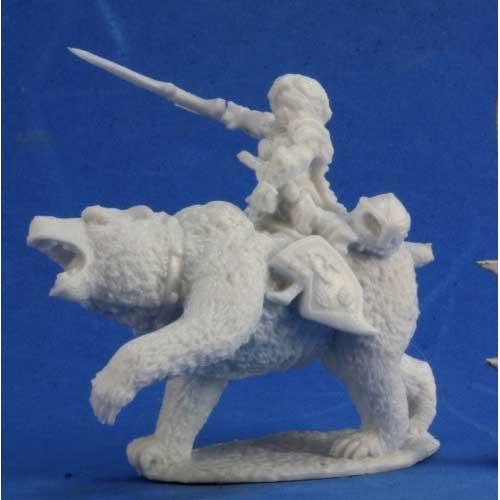 Dark Heaven Bones: Ursula, Dwarven Bear Rider