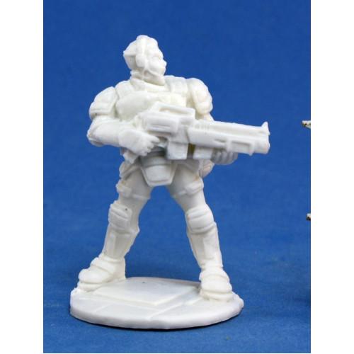 Chronoscope Bones: Garvin Markus, Nova Corp Hero