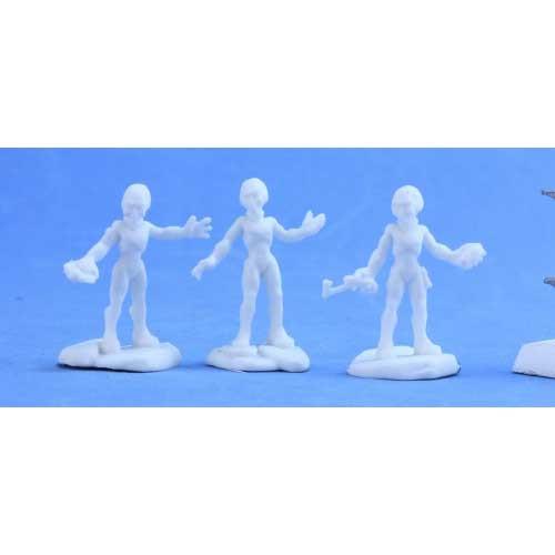 Chronoscope Bones: Gray Alien Warriors (3)
