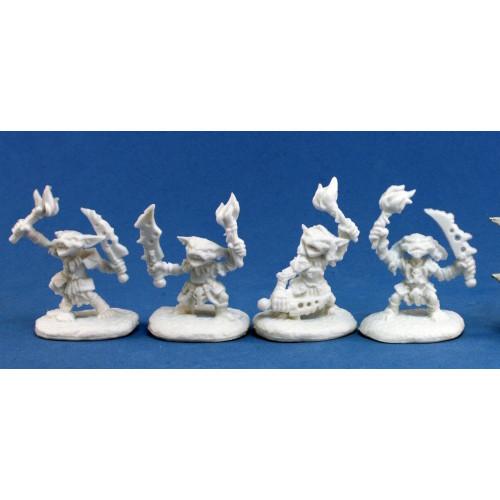 Pathfinder Bones: Pathfinder Goblin Pyros (4)