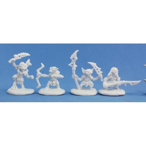 Pathfinder Bones: Pathfinder Goblin Warriors (4)