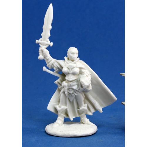 Pathfinder Bones: Seelah, Iconic Paladin