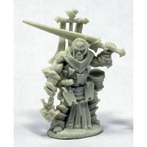 Pathfinder Bones: Oloch, Iconic Warpriest
