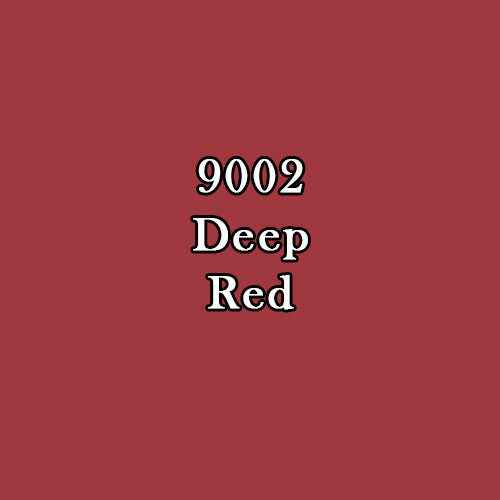 Master Series Paint: Deep Red