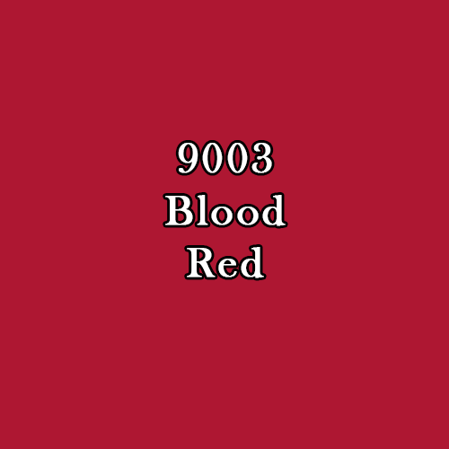 Master Series Paint: Blood Red