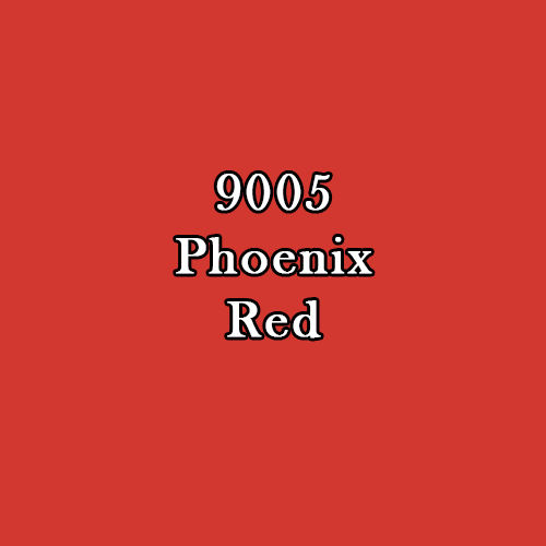 Master Series Paint: Phoenix Red Fire
