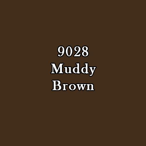 Master Series Paint: Muddy Brown Warm (Deep Brown)