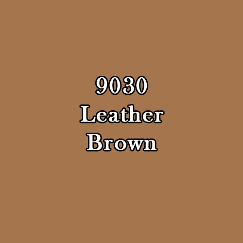 Master Series Paint: Leather Brown Warm (Deep Brown)