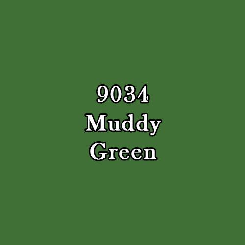 Master Series Paint: Muddy Olive (15ml)