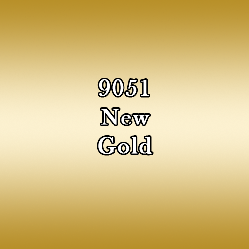 Master Series Paint: New Gold Gold toned Metallics