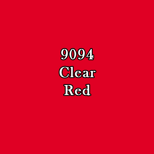 Master Series Paint: Clear Red