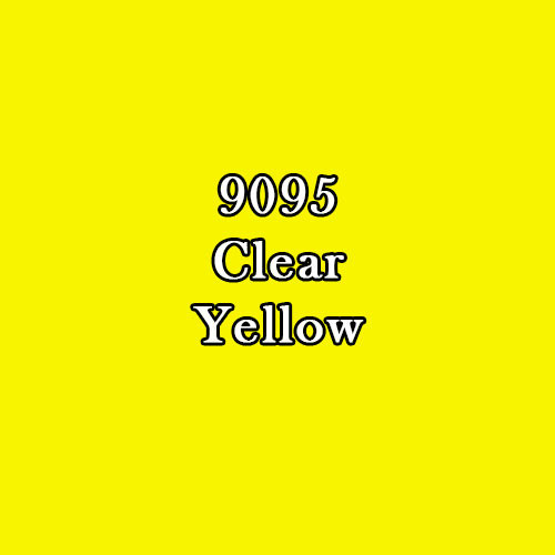 Master Series Paint: Clear Yellow