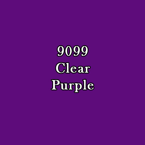 Master Series Paint: Clear Purple