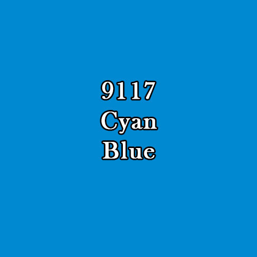 Master Series Paint: Cyan Blue