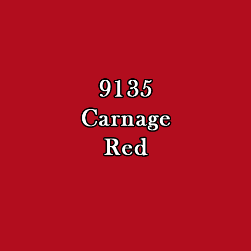 Master Series Paint: Carnage Red