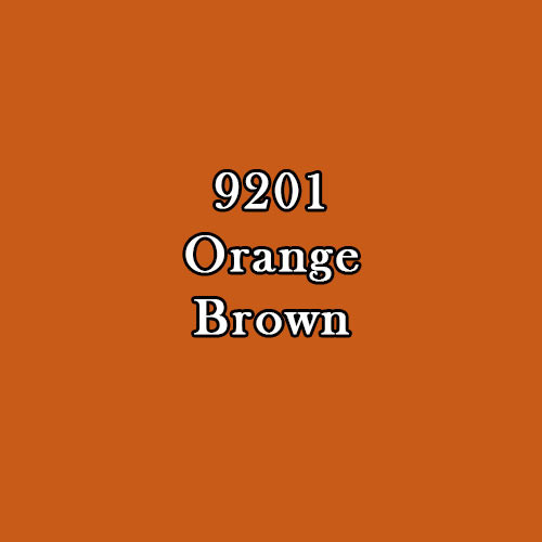 Master Series Paint: Orange Brown