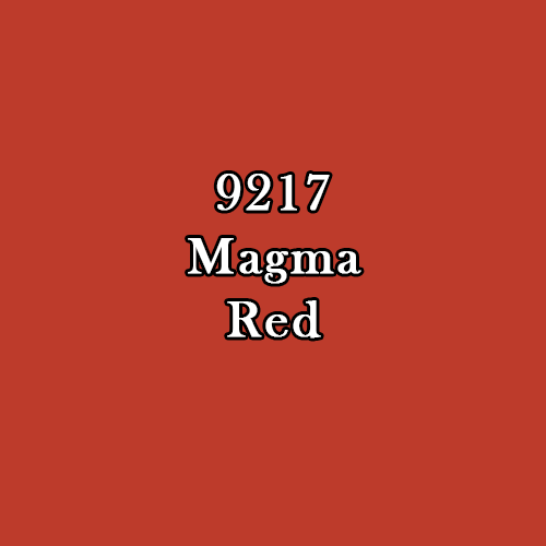 Master Series Paint: Magma Red