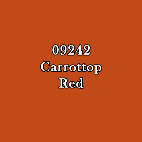 Master Series Paint: Carottop Red