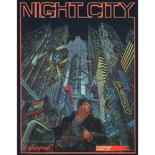Cyberpunk 2020 RPG: Night City Sourcebook (Softcover)