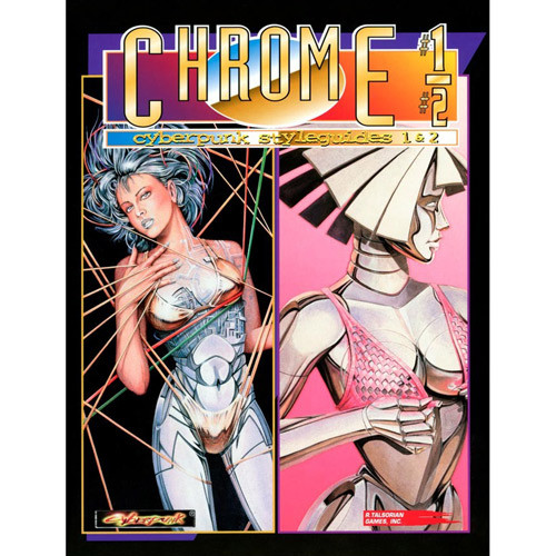 Cyberpunk 2020 RPG: Chromebook 1 & 2 (Softcover)