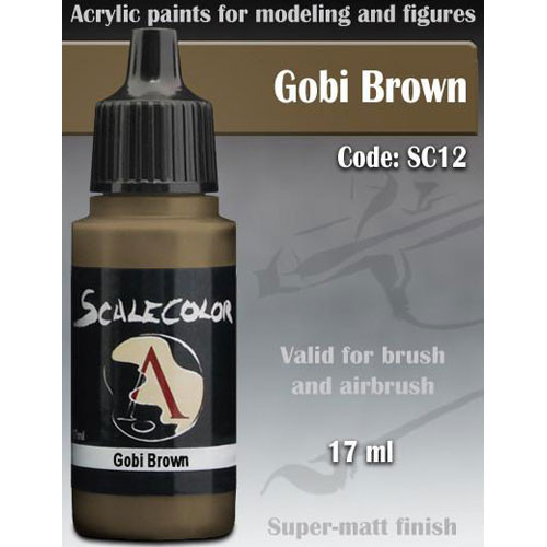 Scale Color Paint: Gobi Brown (17ml)