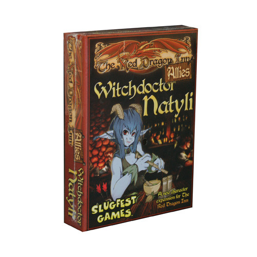 The Red Dragon Inn: Allies Expansion - Witchdoctor Natyli