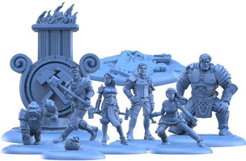 Guild Ball: Mason's Guild - Solid Foundations